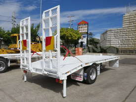 9 Ton Single Axle Tag Trailer WHITE ATTTAG - picture2' - Click to enlarge