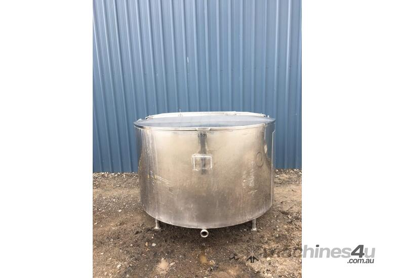 1,350ltr Jacketed Stainless Steel Tank