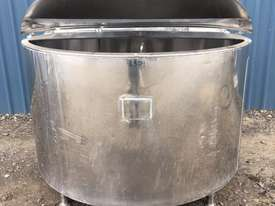 1,350ltr Jacketed Stainless Steel Tank - picture1' - Click to enlarge