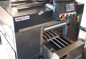 AW-4600CPR is a fully automatic, integrated weigh/wrap/label system for meat/food in line wrapping