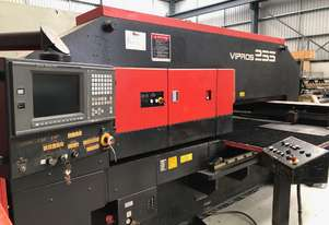 In Stock! Amada Vipros 255 CNC Turret Punch Press. Reduced!