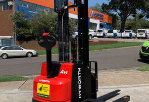 Hyworth 1.4T Walkie Stacker Forklift FOR HIRE from $120pw + GST