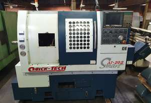 Quicktech Smart AT20S CNC Lathe Low hours with Barfeeder. Negotiable price