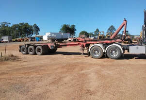 White Transport Equipment Semi Tipper Trailer