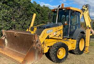 315SG JOHN DEERE Ex Council  4WD Backhoe Loader