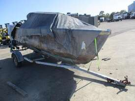 Unknown Make Boat + Trailer Combo - picture0' - Click to enlarge
