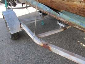 Unknown Make Boat + Trailer Combo - picture1' - Click to enlarge