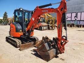 2017 KUBOTA U35-4 EXCAVATOR WITH CAB, FULL SPEC AND LOW 1225 HOURS - picture0' - Click to enlarge