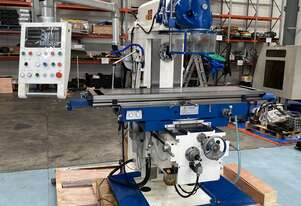 PUMA X6436A UNIVERSAL MILLING MACHINE | HOR & VERT SPINDLES | 1600MM X 360MM TABLE | ISO 50