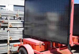 Vermac Variable Message Sign Trailer