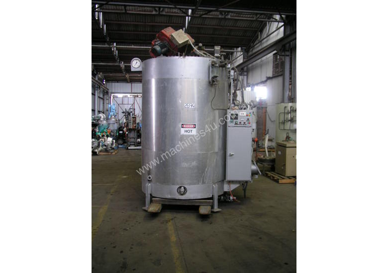 Gas Fired Steam Boiler Capacity 750kw.