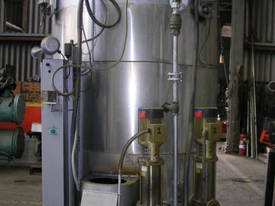 Gas Fired Steam Boiler Capacity 750kw. - picture1' - Click to enlarge