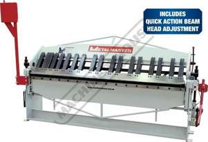 PB-820A Manual Panbrake 2440 x 2mm Mild Steel Bending Capacity Includes Quick Action Head Adjustment