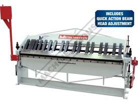 PB-820A Manual Panbrake 2440 x 2mm Mild Steel Bending Capacity Includes Quick Action Head Adjustment - picture0' - Click to enlarge