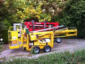 Leguan 125 Spider Lift for hire. Cherry picker  - picture0' - Click to enlarge