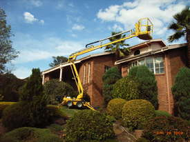 Leguan 125 Spider Lift for hire. Cherry picker  - picture1' - Click to enlarge