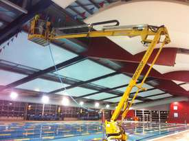 Leguan 125 Spider Lift for hire. Cherry picker  - picture2' - Click to enlarge