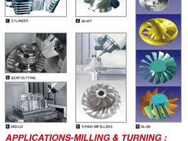 Eumach UMC-1000, 5 axis Milling or MillTurn Centres - picture8' - Click to enlarge