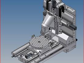 Eumach UMC-1000 Universal 5 axis Milling or Milling & Turning Centres - picture9' - Click to enlarge