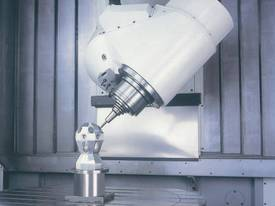 Eumach UMC-1000 Universal 5 axis Milling or Milling & Turning Centres - picture7' - Click to enlarge