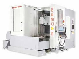 Eumach UMC-1000 Universal 5 axis Milling or Milling & Turning Centres - picture3' - Click to enlarge