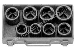 TOOLTEC Impact Socket Set 9 Piece Metric Deep