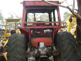 135hp massey , 2 w/d , burnt cabin , starts / runs - picture1' - Click to enlarge