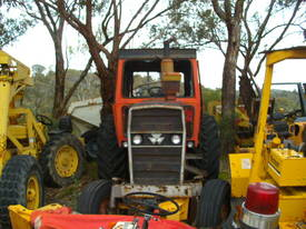 135hp massey , 2 w/d , burnt cabin , starts / runs - picture4' - Click to enlarge