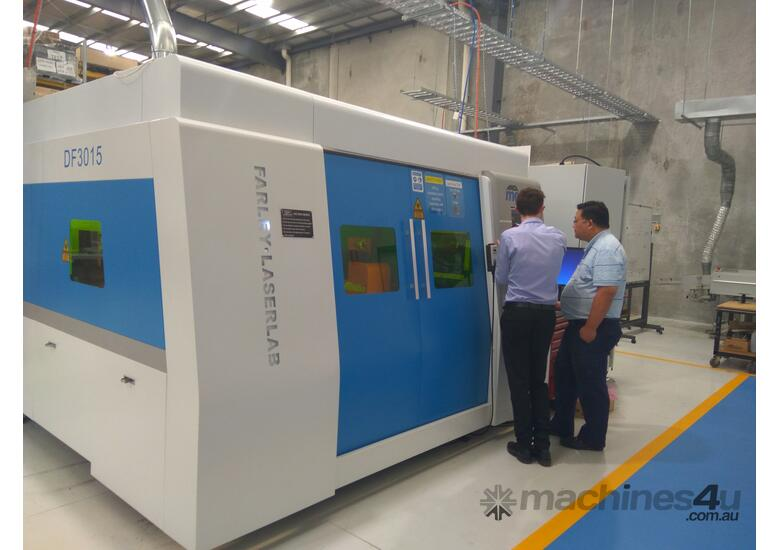 Farley MARVEL 3.3kW Fiber Laser Machine - (AUSTRALIAN MADE CONTROLLER) - STARTING $330,000 + GST