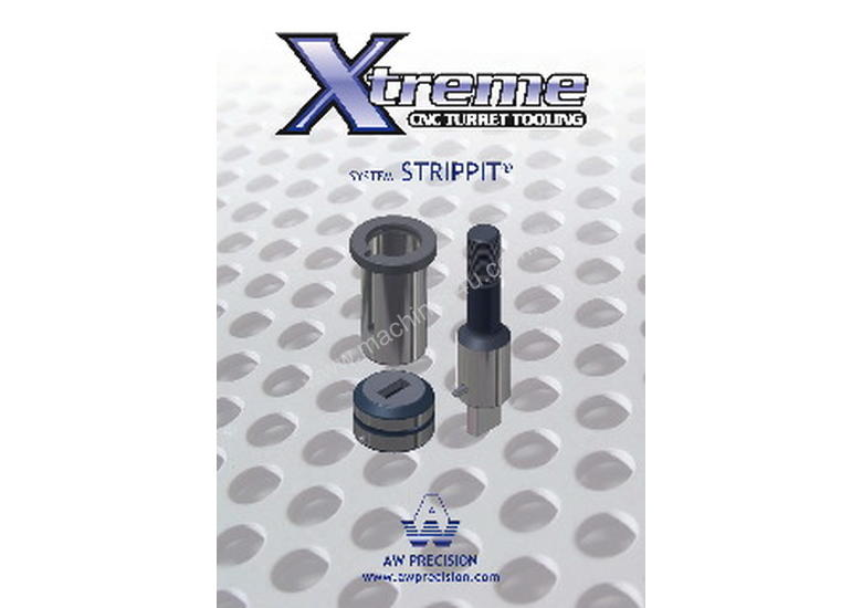 AW Precision Strippit Thin Style Tooling