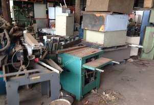 Ried Machinery thicknesser saw bench