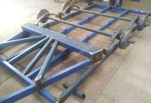 Blyth Built   tip trailer