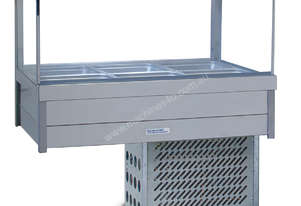 Roband SRX23RD Square Glass Refrigerated Display