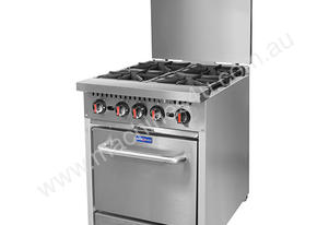 F.E.D. S24 Gasmax 4 Burner with Oven