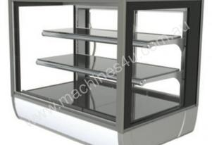 FPG 3A09-SQ-CT-SD Ambient Square Counter Top Display w/Sliding Glass Door - 903mm