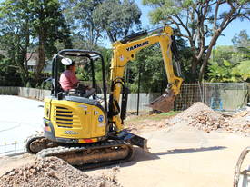Yanmar ViO30-6B - Mini Excavator - picture1' - Click to enlarge