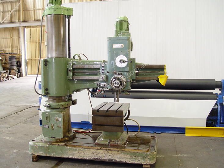 Used Hmt Drilling Machines for sale - HMT Radial Arm Drill - $10,780