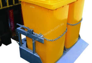 Wheelie Bin Tipper for 2 Plastic Wheelie Bins