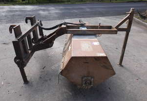 skid steer mount , cleaner by digger