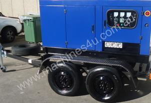 SDS 10/12.5kVA Mobile Water Cooled Diesel Generato