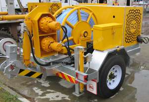 3.5 TONNE BULL WHEEL WINCH TRAILER