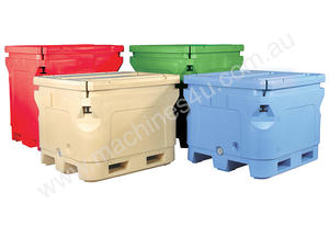 Insulated Plastic Bins 400L - 1000L Capacity