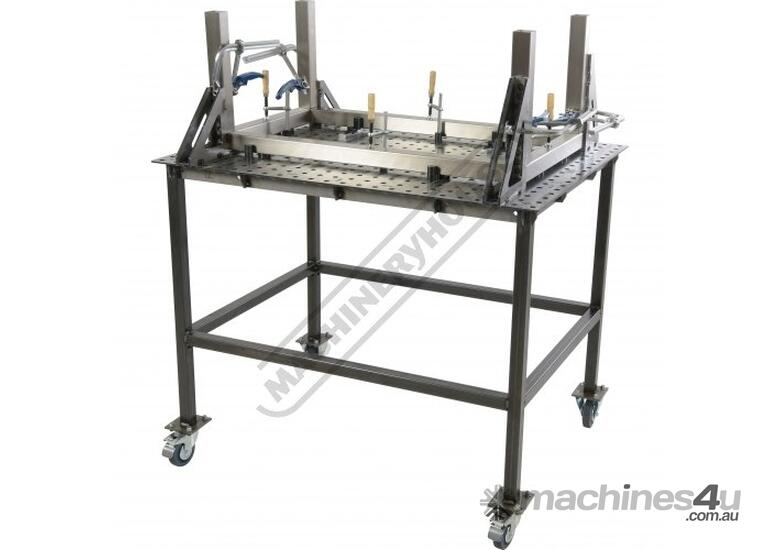 WTL6090-M CertiFlat PRO 1D Welding Table 600 x 900 x 860mm (LxWxH) Tab & Slot U-Weld