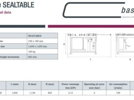 base SEALTABLE  Rotates - picture1' - Click to enlarge