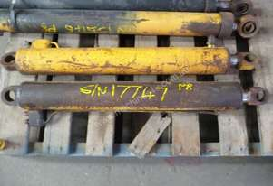 1 X PAIR OF DOUBLE ACTING HYDRAULIC RAMSS