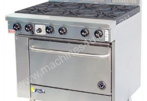 GOLDSTEIN PF-6-28 6 Burner Gas Oven