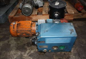 Busch Type 100 138 3 phase vacuum pump