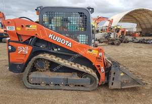 2016 KUBOTA SVL75 TRACK LOADER IN EXCELLENT CONDITION