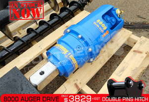 8000 MAX Auger Drive Unit. Suit 6 to 8 Ton Excavators ATTAGT