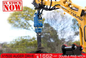 X1500 Auger Drive Unit. Suit 1-2.5 Ton Excavators ATTAGT